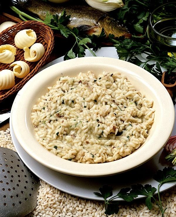 La ricetta di oggi sul Lago di Garda: Risotto con la Tinca