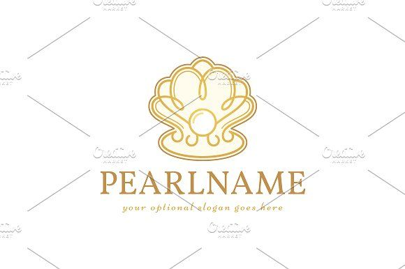 For sale. Only $29 - elegant, wave, water, jewel, beauty, sphere, drop, sea, shell, pearl, spiral, vintage, oyster, mineral, magical, artistic, luxury, ocean, golden, wedding, cosmetics, jewelry, spa, wellness, gem, treasure, precious, rare, logo, design, template,