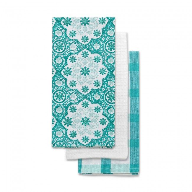 Update your kitchen decor with these Harman Kitchen Towels.