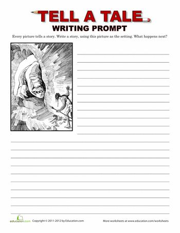 creative writing topics for grade 5