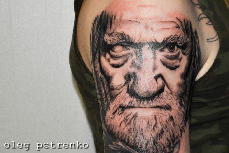 Один викинги мужчина тату арт tattoo tattooartist odin men