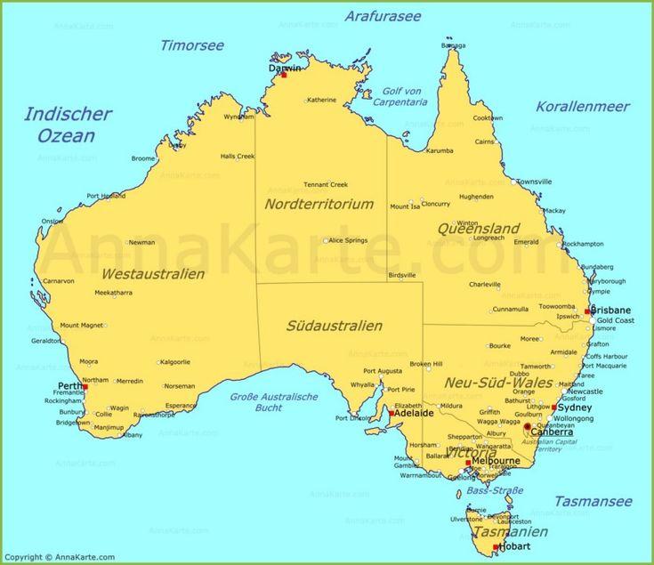 25 best ideas about australien karte on pinterest karte. Black Bedroom Furniture Sets. Home Design Ideas