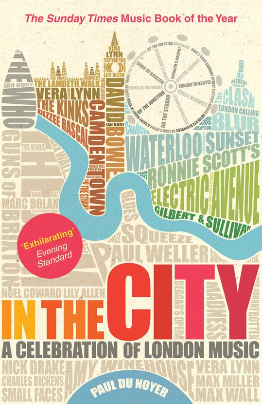 cover design by Lucy Stephens : love the way London is depicted through type. Makes me want to go back