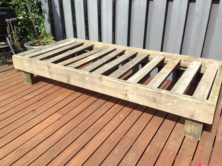 Outdoor Daybed Diy