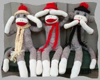 Hear, see, speak no evil monkeys I have to make these