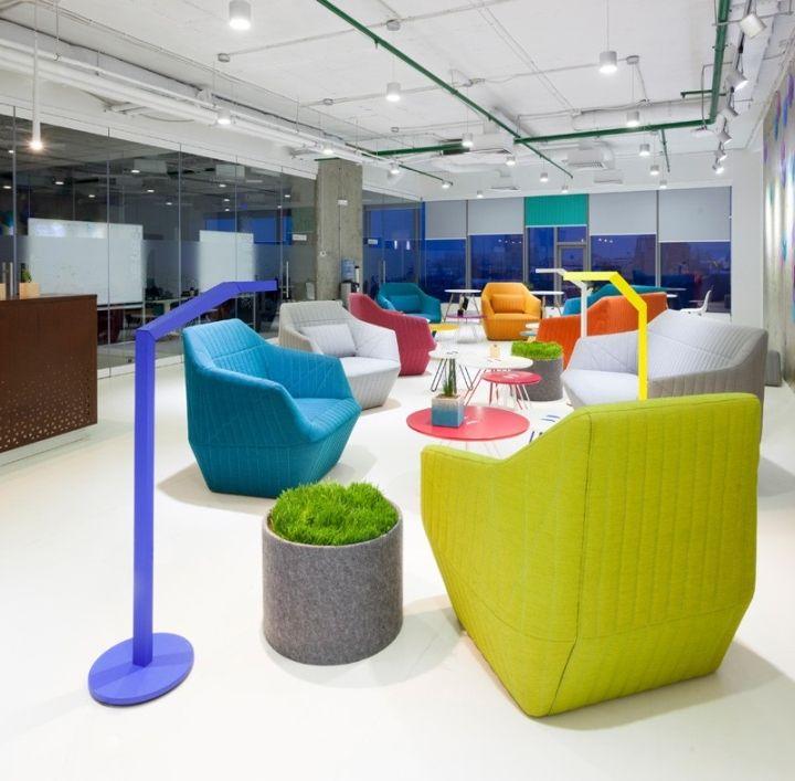 Playtech Office By Soesthetic Group, Kiev – Ukraine » Retail Design Blog