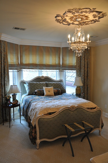 Romantic guest bedroom.