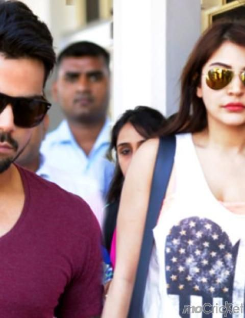 Kohli, Anushka Can't Keep Away From Each Other! Check out rare pictures on http://mocricket.com/