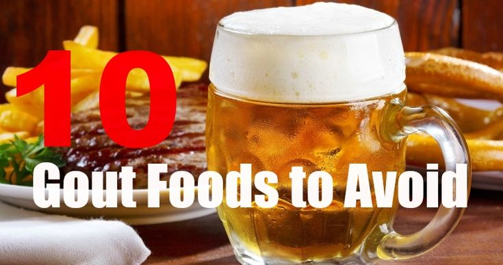 10 Gout Foods to Avoid