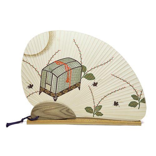 GALLERY & SHOP 唐船屋 / オリジナル団扇セット 虫かご