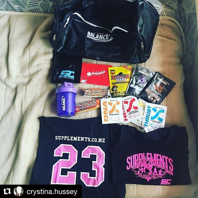 #goodies #screpresent  #Repost @crystina.hussey (@get_repost) ・・・ THANK YOOOOU #TEAMSC @supplements.co.nz for this sick hook up of samples! ❤️ seriously super spoilt and so grateful! Can't wait to try the new @hardmagnum and @balancesportsnutrition supplements!! And imma look so gooood rocking these new gym singlets during my workouts @cityfitnessnz 💯🙌🔥💪 Cheers team! If y'all wanna grab some of these just click on the link in my bio! Or copy and paste this —> ** http://bit.ly/2hVN9Bv…