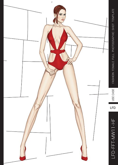 Templates For Fashion Design Pdf Book Fashion Illustrations