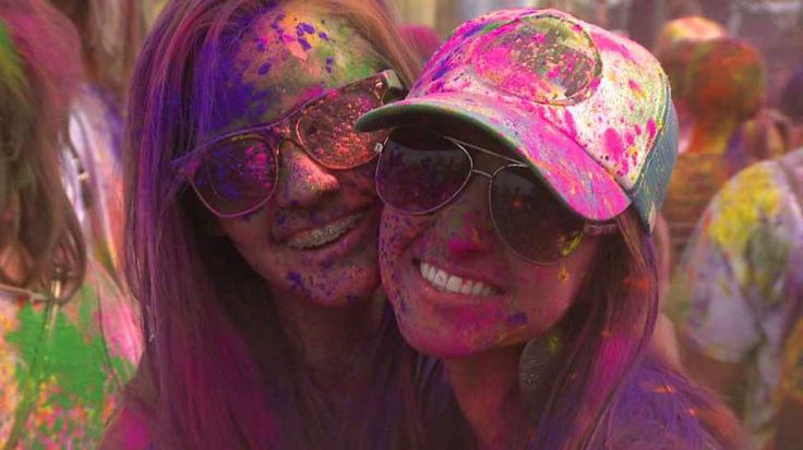 The festival of colors