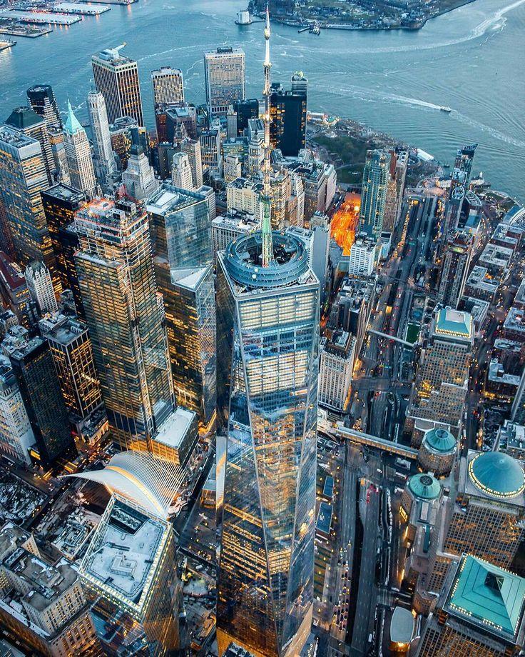One World Trade Center by David LaCombe