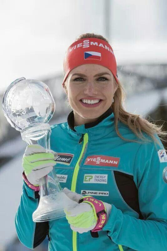 Gabi won sprint globe 2017. Oslo march 17 2017.