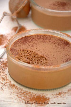 crème-mousse au chocolat et tofu soyeux