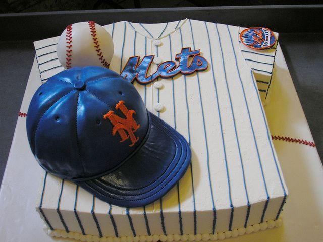 dodger baseball jersey cake ideas | For the Guys: Meatloaf Groom's Cake