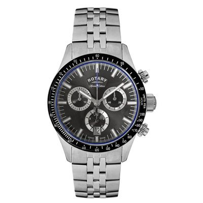 Chelsea 2014/15 Special Edition Rotary Stainless Steel Strap Watch - Grey Dial