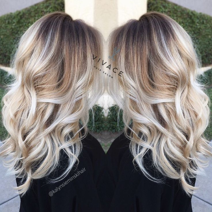 Blonde Balayage Highlights on Pinterest  Ombre, Balayage hair blonde