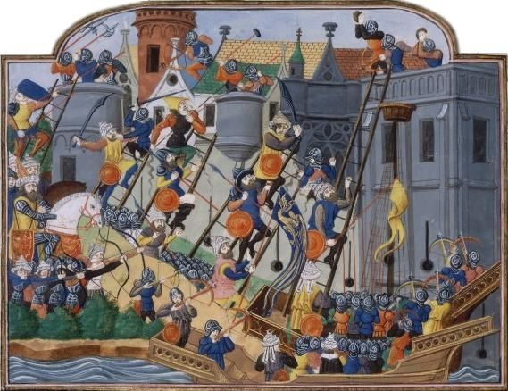 1453 Queda De Constantinopla Tambem Conhecida Como Tomada De