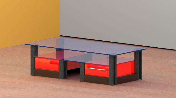 LipC Re_Designs  Custom Made Coffee Table.  BY MANAGEMENT