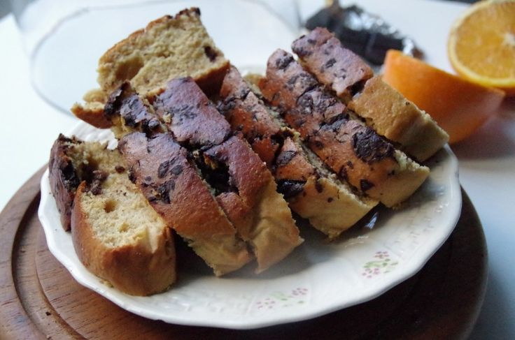 Orange and chocolate loaf