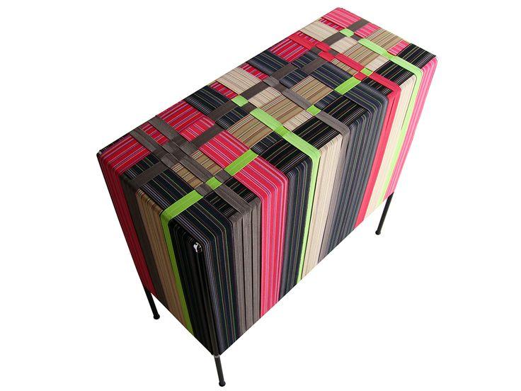 Un armario elástico, del diseñador argentino Alejandro Sarmiento.