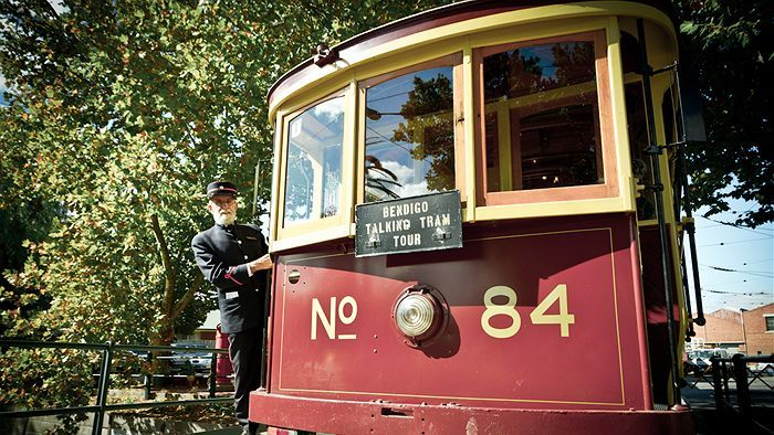 The Bendigo Tramways have been around for about 125 years and in its present incarnation as the tourist Talking Trams since 1972. #Bendigo #trams (Image: ABC/Larissa Romensky)