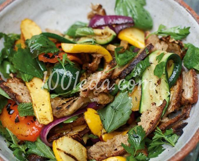Гриль-салат из овощей
