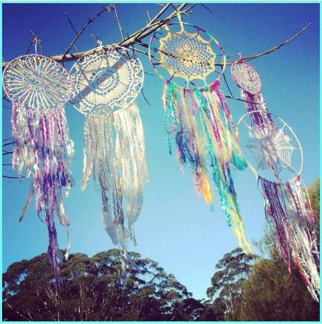 One-of-a-kind 'Crystal Vision' dreamcatcher handmade with love & light energy by Beauty In Numbers.