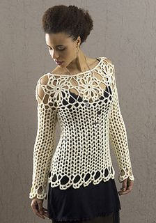 Avalon crocheted top by Doris Chan. Free pattern!