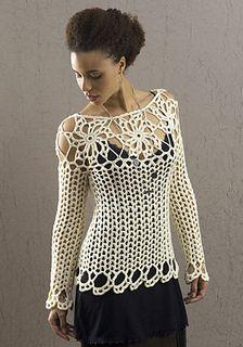 Avalon crocheted top by Doris Chan. Free pattern!