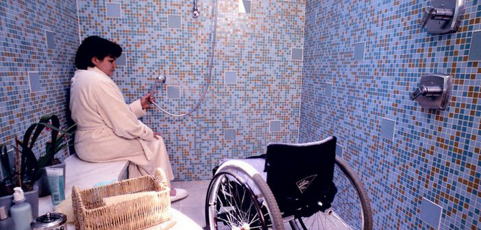 Handicap Shower Stalls: How to Choose a Handicap Shower Stall for Your Accessible Bathroom - When installing handicap shower stalls, one of the main issues is whether a custom shower built from scratch or a pre-made handicap shower kit is more practical, affordable and comfortable. Get our tips on your best options for choosing and installing the right handicap shower stall.