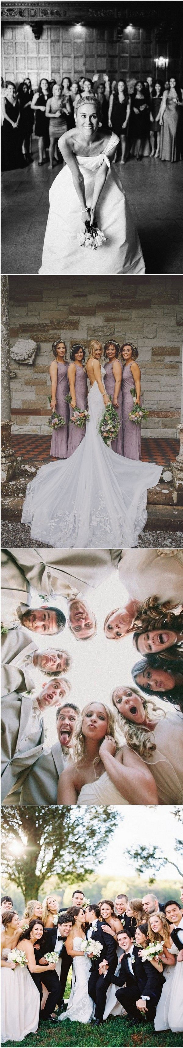 unique wedding party photo ideas