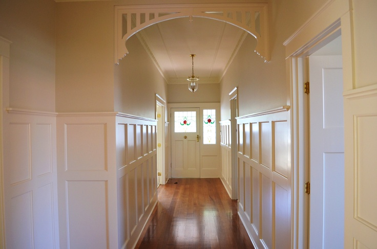 Recently repainted heritage home. Stunning Entrance Hallway painted by: 'CN Painters Melbourne' Contact Our Office on: 0432 617 502 Visit our website: www.cnpaintersmelbourne.com.au