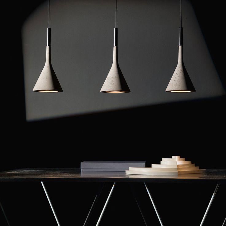 Awesome Concrete furniture: ideas for home decor, Aplomb lamp, Lucidi-Pevere, Foscarini, 2010 |