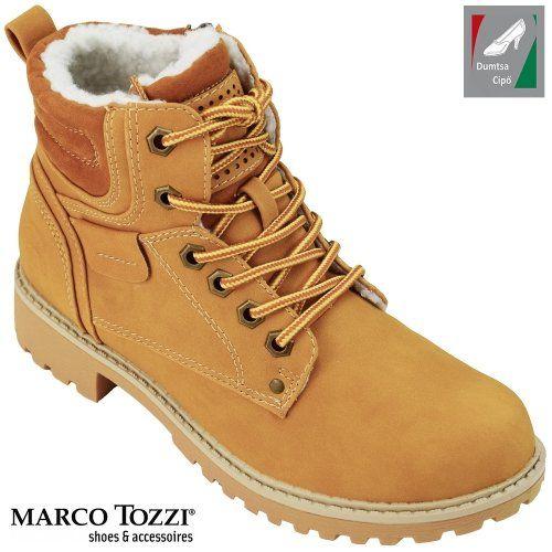 Marco Tozzi női bakancs 2-26272-21 681 kukoricasárga  0ca44a5e65