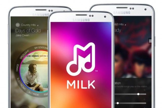 Milk Music app updated for Samsung Galaxy S5 : All New UI