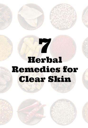 7 natural remedies for clear skin
