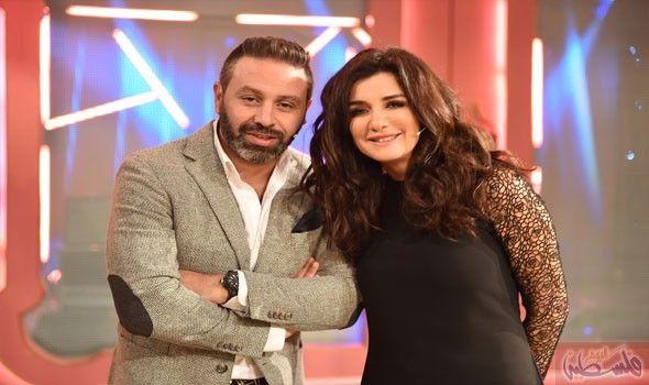 غادة عادل تستضيف حازم إمام في برنامج تعشب شاي Media إعلام Pinterest