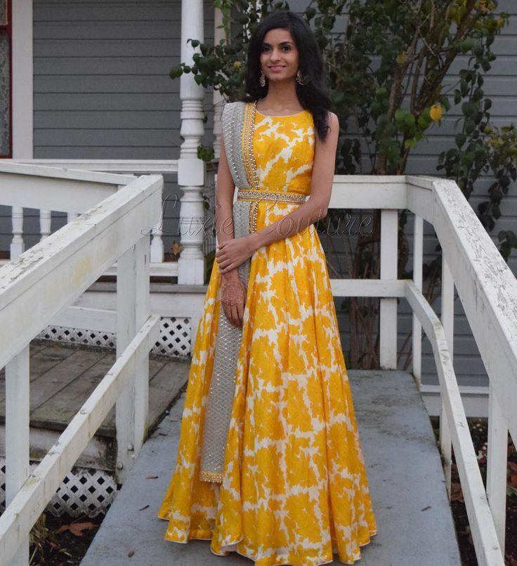 Floral love Anarkali : Raw silk Dupatta : Net with zari detailing throughout For any inquiries email at luxiecouture@hotmail.ca #luxiecouture #indianfashion #lenghacholi #lehenga #punjabibride #indianwedding #ladiessangeet #indianbride #anarkali #dupatta #lengha #indiancouture #salwarkameez #indiandress #indianstyle #saree #sari #dressyourface #mumbai #sikhwedding #vancouver #desibeautyblog #punjabisuit #indiandesigner #indianoutfit #punjabiwedding #indianwear