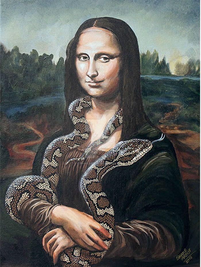 Pinturas Clásicas con Serpientes como Protagonistas