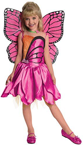 Barbie Fairytopia Mariposa and Her Butterfly Fairy Friends Deluxe Mariposa Costume Small *** Check out this great product.