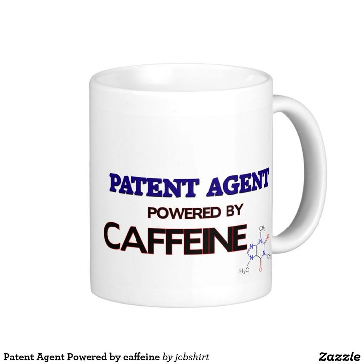 Patent Agent Powered by caffeine Classic White Coffee Mug