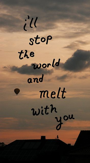 Ill stop the world and... by timeandspace+, via Flickr