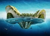 Lilypad Floating Ecopolis by Vincent Callebaut Architects