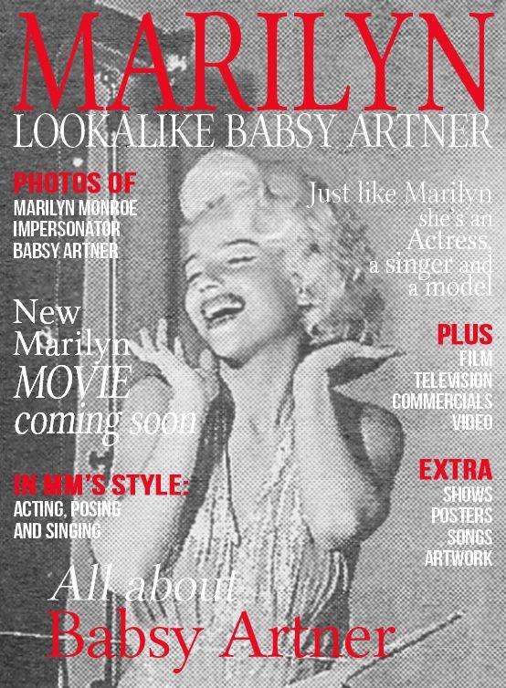 Babsy Artner - Actress & Marilyn Monroe Lookalike www.MarilynFanTheMovie .com ☆☆☆☆☆☆☆☆☆☆☆☆☆☆☆☆ #marilyn #monroe #marilynmonroe #lookalike #impersonator #film #movie