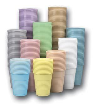 CROSSTEX PLASTIC CUPS by Crosstex International. $55.00. Cup, 5 oz, Lavender, 1000/cs, Our Newly designed 5 oz. / 148ml Provide greater strength, a new embossed grip, making it easier to dispense and hold, and a double rolled lip for easy separation. Both the 5 oz. / 148ml and 3.5 oz/103ml cups are double coated for a lustrous, high gloss finish. both sizes dispense easily from any 5 oz. cup dispenser due to their special nesting qualities. Latex free.