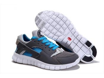 Cheap Nike Huarache Free Mens Run Trainers Size UK 11 LE Grey / Blue Sale UK -Nike Huarache Free