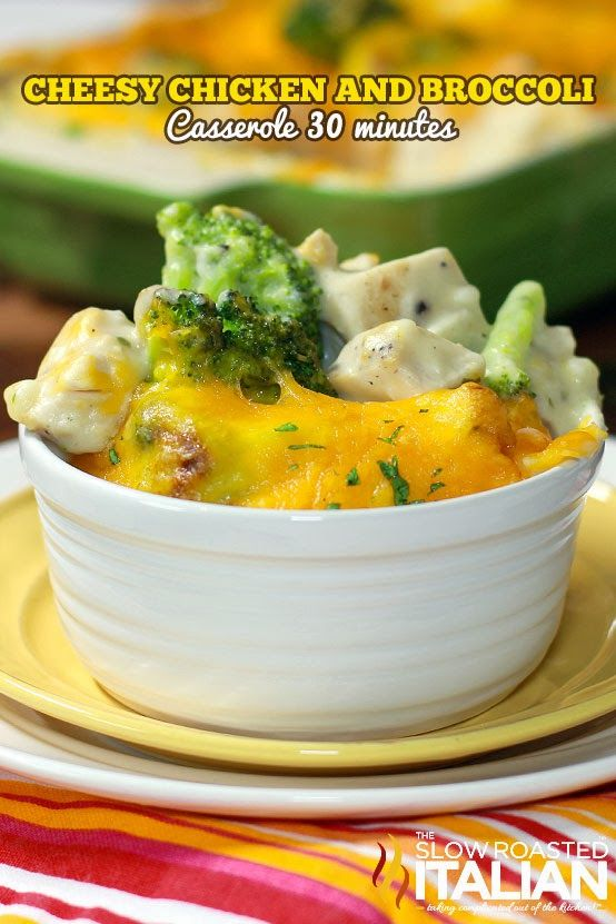 633 best tsri 30 minute meals images on pinterest recipes chicken cheesy chicken and broccoli casserole in 30 minutes sisterspd